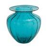 Woodland Imports Glass Fluted Vase