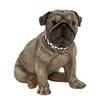 Woodland Imports Extremely Cute and Lifelike Polystone Dog Statue