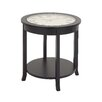 Woodland Imports Ingenious Clock End Table