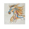 Woodland Imports Cool and Colorful Painting Print on Wrapped Canvas
