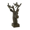 Woodland Imports Realistic Deer Head Figurine