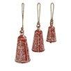 Woodland Imports 3 Piece Prepossessing Metal Wood Bell Set
