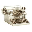 Woodland Imports Prepossessing Typewriter Sculpture