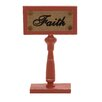 Woodland Imports Decorative Classy Styled Faith Sign