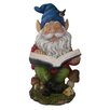 Woodland Imports Gnome Reading Book Statue