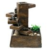 Woodland Imports Eternity Step Stone Resin Tiered Fountain