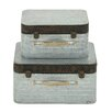 Woodland Imports Classy 2 Piece Box Decorative Set