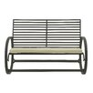 Woodland Imports Appealing Metal Garden Bench