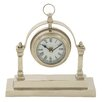 Woodland Imports Gleaming Table Clock