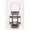 Woodland Imports Glass Lantern