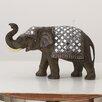 Woodland Imports Mirror Elephant Figurine