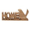 Woodland Imports Home Bird Letter Block