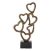 Woodland Imports Heart Table Sculpture