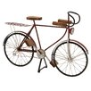 Woodland Imports Amazing Styled Fancy Metal Wood Bicycle
