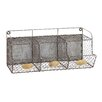 Woodland Imports Hand Crafted Metal Wire Wall Rack