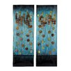 Woodland Imports 2 Piece Handcrafted Plaque Wall Décor Set