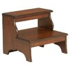 Butler Plantation Cherry 2-Step Wood Step Stool