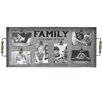 "Fetco Home Decor Albine ""Family A Lifetime of Love"" Clip Collage Picture Frame"
