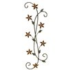 Fetco Home Decor Katelyn Floral Scroll Wall Décor