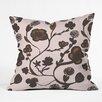 DENY Designs Georgiana Paraschiv Floral II Throw Pillow