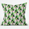 DENY Designs Cayenablanca Patterned Christmas Tree Throw Pillow