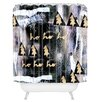 DENY Designs Cayenablanca A White Christmas Shower Curtain