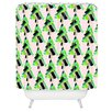 DENY Designs Cayenablanca Patterned Christmas Tree Shower Curtain