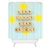 DENY Designs Happee Monkee Star Light Star Bright Shower Curtain