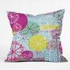 DENY Designs Rachael Taylor Snowflake Stems Throw Pillow