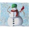 DENY Designs Madart Inc. Winter Cheer Plush Fleece Throw Blanket
