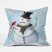 DENY Designs Madart Inc. Winter Cheer Throw Pillow