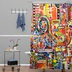 DENY Designs Robin Faye Gates It Came from Detroit Shower Curtain