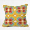 DENY Designs Steven Scott Bubbles and Butterflies Indoor/outdoor Throw Pillow