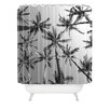 DENY Designs Bree Madden Palms Polyester Shower Curtain