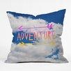 DENY Designs Leah Flores Adventure Sky Throw Pillow