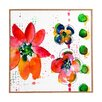 DENY Designs Summer in Watercolor by Laura Trevey Framed Painting Print