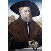Buyenlarge 'Portrait of A Member of The Vom Rhein Family' by Conrad Faber Von Creuznach Wall Art