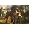 Buyenlarge 'The Horse Fair' by Rosa Bonheur Painting Print