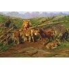 Buyenlarge 'Weaning The Calves' by Rosa Bonheur Painting Print