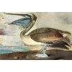Buyenlarge 'Brown Pelican' by John James Audubon Painting Print