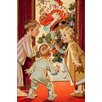 Buyenlarge 'What is Santa Doing to Mommy?' by Joseph Christian Leyendecker Painting Print