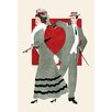 Buyenlarge 'Valentine Couple' Painting Print