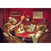 """Buyenlarge Dog Poker - """"This Game is Over"""" by C.M. Coolidge Painting Print"""