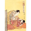 Buyenlarge The Hour of the Dragon by Utamaro Painting Print
