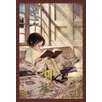 Buyenlarge 'Books in Winter' by Jessie Willcox Smith Painting Print