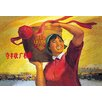 Buyenlarge Win a Good Harvest: Increase Grain Production Painting Print