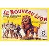 Buyenlarge Le Nouveau Lyon by Eugene Oge Vintage Advertisement