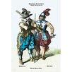 Buyenlarge German Costumes: Thirty Years War: Musketeer Painting Print
