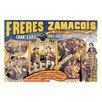Buyenlarge 'Freres Zamacois' Vintage Advertisement