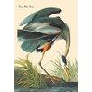 Buyenlarge Great Blue Heron by John James Audubon Painting Print